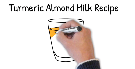 turmeric almond milk