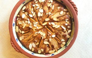 Easy Gluten Free Apple Almond Tart
