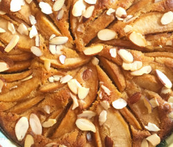 Apple Almond tart recipe