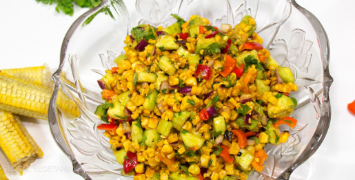 cajun grilled corn salad