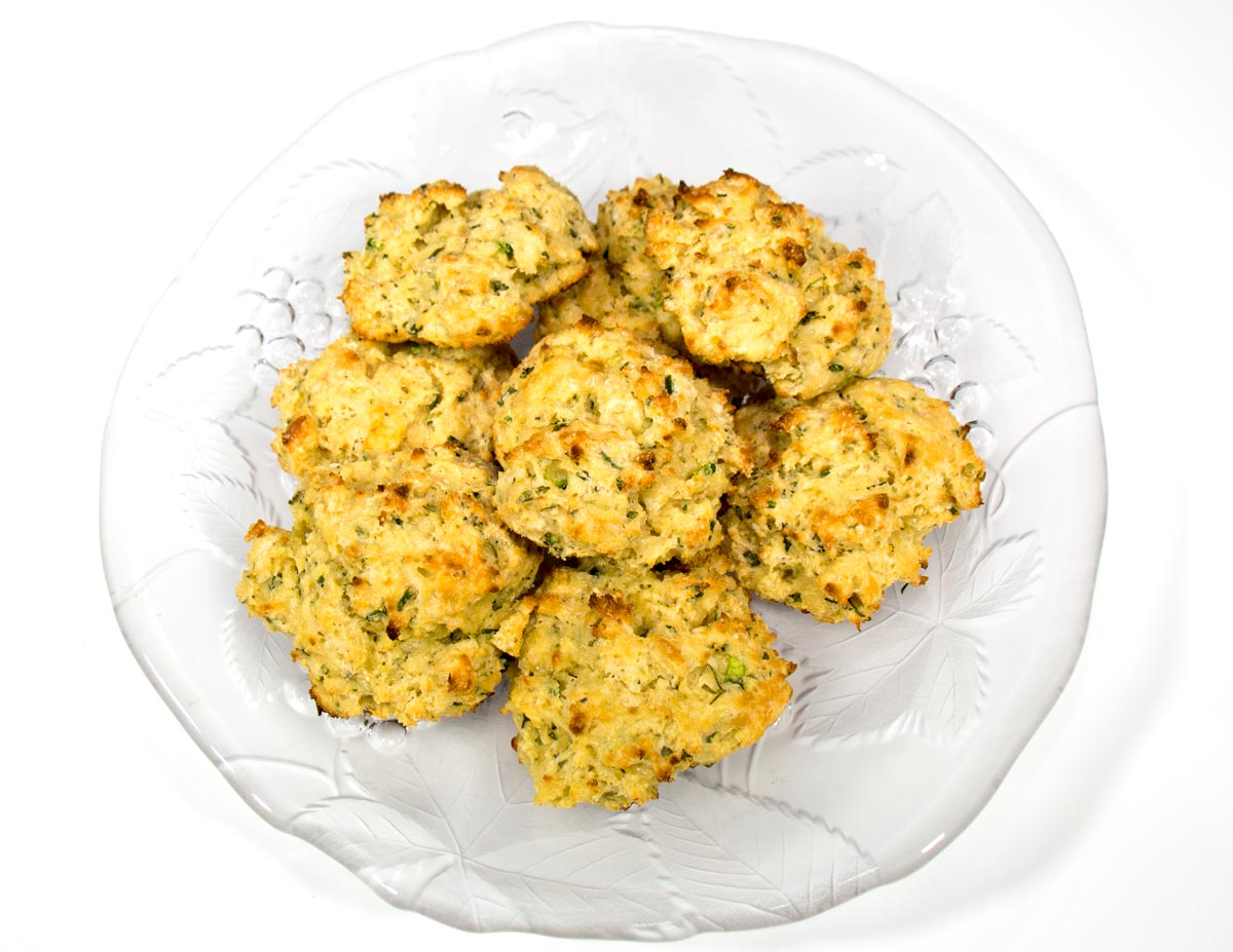 Cheese & Chives Gluten-Free Scones