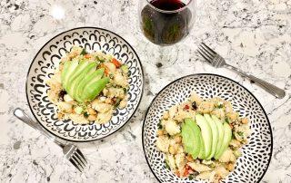 Dijon Quinoa Pasta Salad