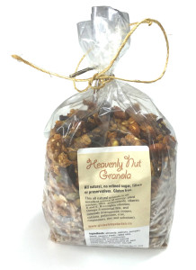 Heavenly Nut Granola
