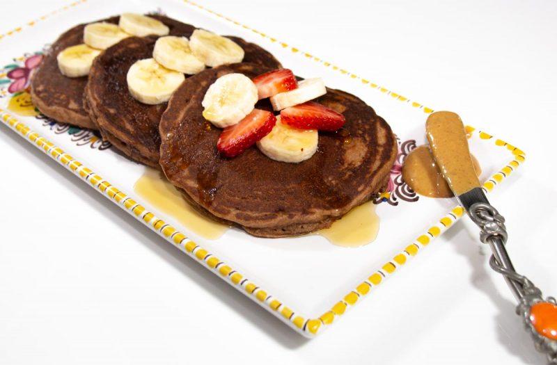 Gluten Free Chocolate Pancakes