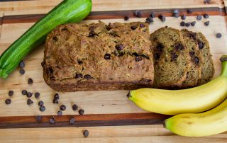 Gluten Free Zucchini Banana Loaf