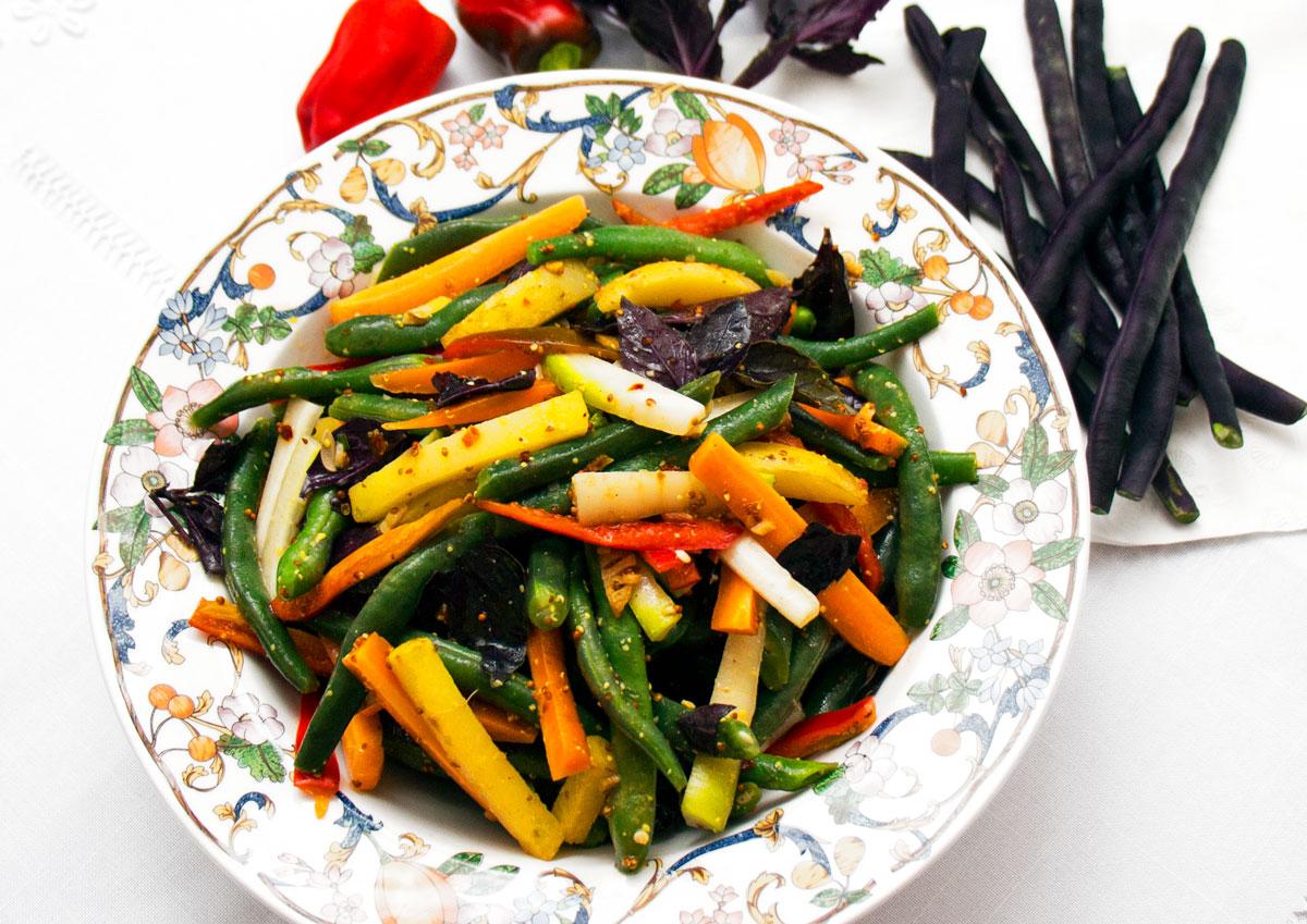 Julienned Veggie Salad