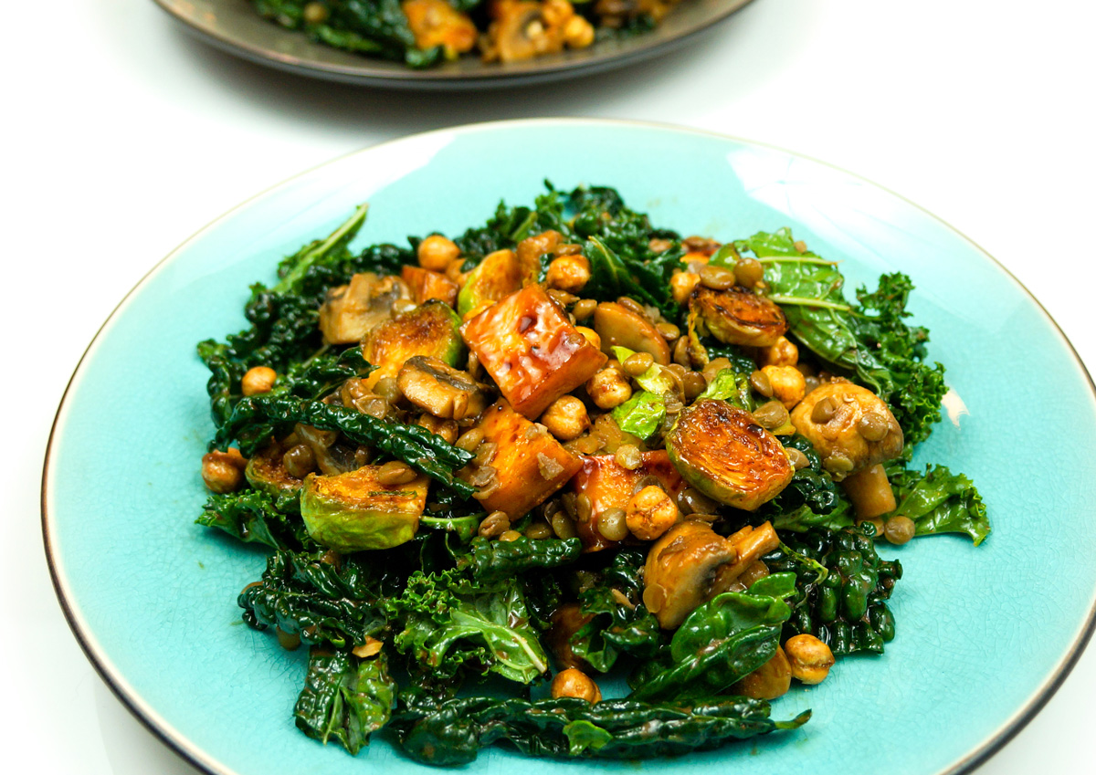 Protein Packed Kale Salad