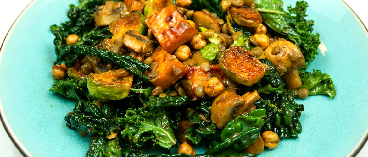 Who says you can't get enough protein in a vegetarian or vegan meal?
