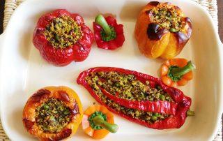 Quinoa Stuffed Peppers