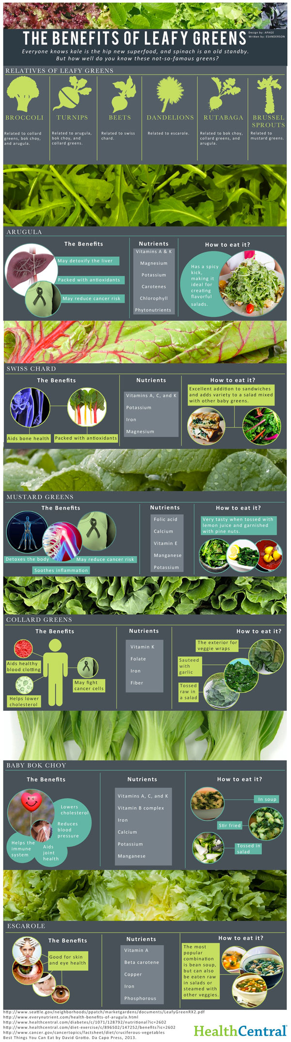 The Benefits of Leafy Greens