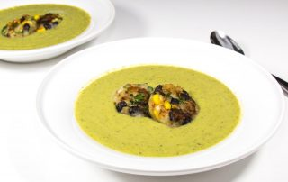 Vegan Cream of Asparagus Bisque