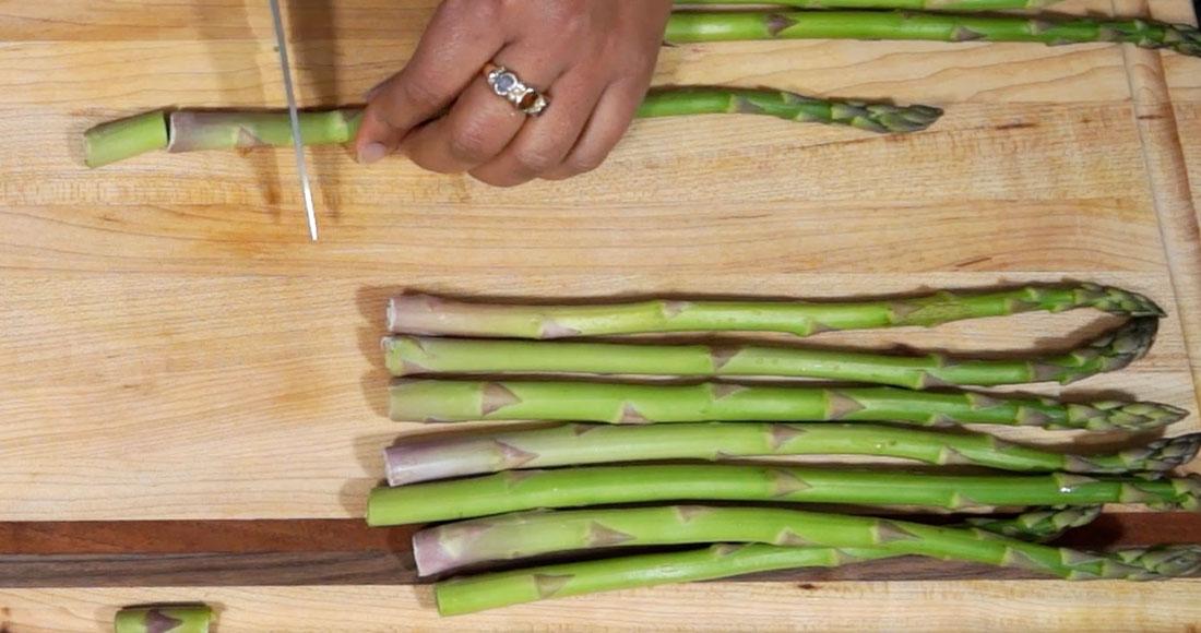 asparagus filo
