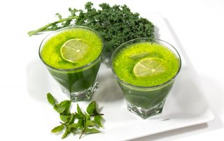 Mint Kale Lemonade
