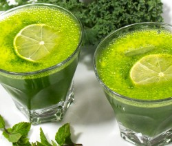 kale mint lemonade recipe