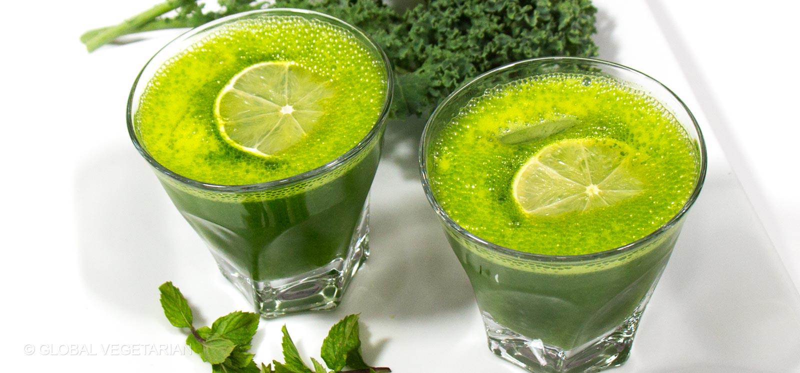 Mint Lemonade Recipe — Dishmaps
