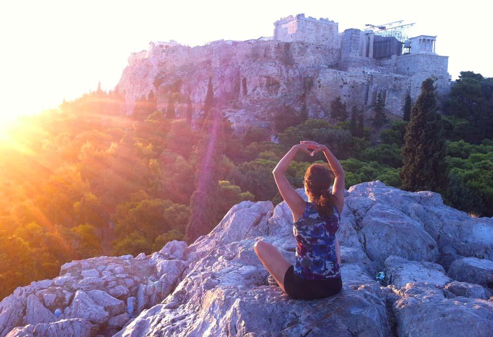 acropolis meditation