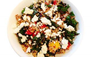 Southwest Quinoa Kale Salad