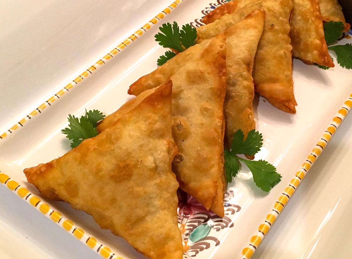 vegetarian samosas recipe